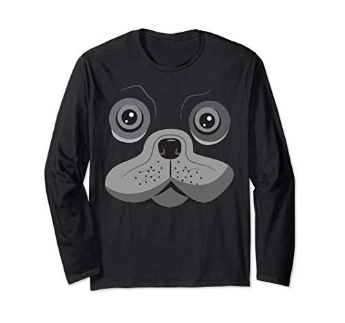 Mops Shirt Kostüm - Pug Mops Geschenke Hund Kostüm oder