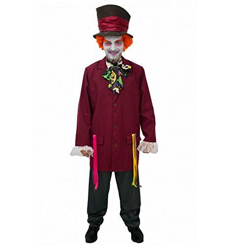 Imagen de sombrerero loco disfraz inspirado adulto  talla  xl