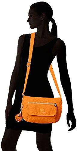 Kipling Damen Syro Schultertaschen, Einheitsgröße Orange (sunset Yellow)