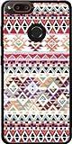 MOBILINNOV Archos Diamond Alpha/Diamond Alpha Plus Bandana indigène Aztec Rouge Silikon Hülle Handyhülle Schutzhülle - Zubehor Etui Smartphone Archos Diamond Alpha/Diamond Alpha Plus Accessoires