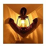 WHQ Pays d'Amérique Lampe de Mur Bar café Lampe de Mur Cheval Lampe allée Lampe de...