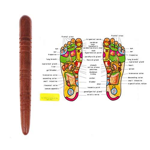 urort-Physiotherapie-thailändische Massage-Gesundheits-Entspannungs-hölzerne Stock-Werkzeuge ()