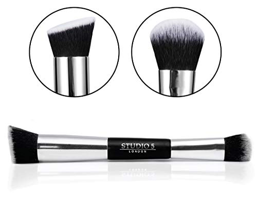 Foundation Contour Brush par Impora London. For Liquid and Powder Foundation, Blush, Bronzer and Contouring