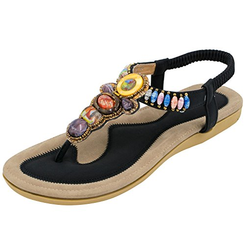 oasap-womens-boho-rhinestones-embellishment-y-strap-thong-sandals-for-women-euro39-us8-uk6-black