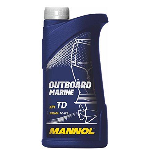 MANNOL Outboard Marine API TD, 1 Liter (Marine Motor-öl)
