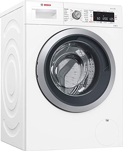 Bosch WAWH8640 Serie 8 Waschmaschine Frontlader / A+++ / 137 kWh/Jahr / 1400 UpM / 8 kg / HomeConnect / i-DOS intelligente Dosierautomatik