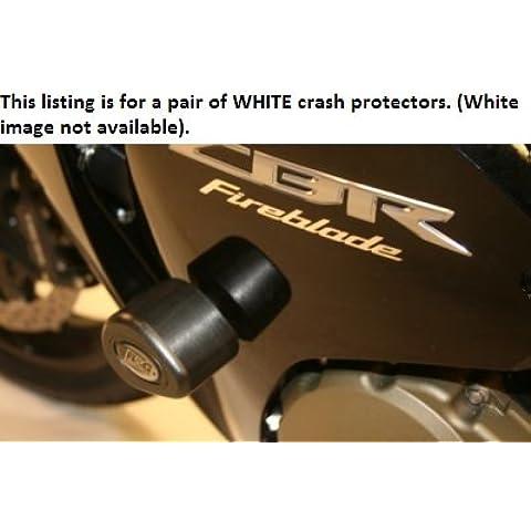 R & G Racing Aero Blanco Crash Protectores Honda CBR 1000RR Fireblade ABS