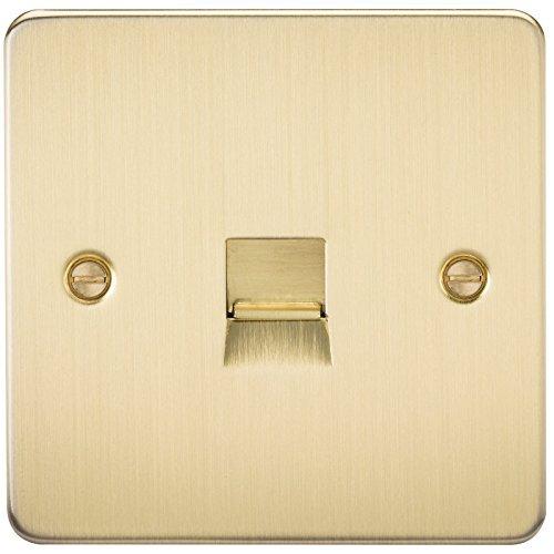 Knightsbridge FPA, FP7300BB Telefon Wall Plate