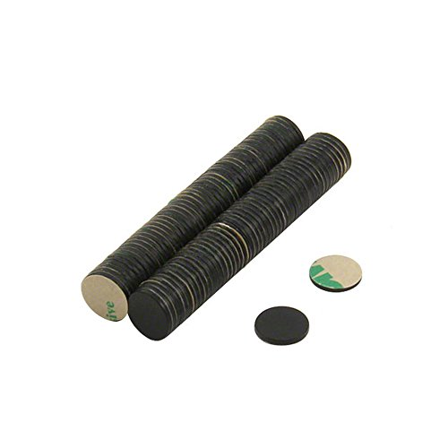 first4magnets-f307bkna-diametro-100-mm-10-x-1-mm-n42-adesivo-epossidico-058-kg-con-magnete-colore-ne