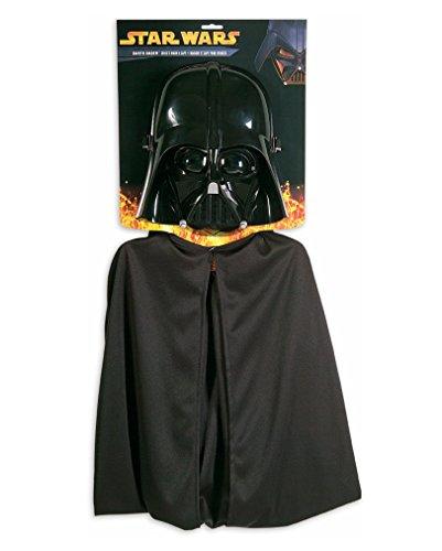 Darth Vader Umhang mit Halbmaske (Darth Vader Kostüme Baby)
