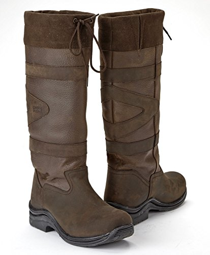 Toggi Canyon Long Country Boots Broad One Leg Length