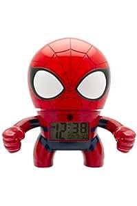 marvel bulbbotz spider man kids light up alarm clock red. Black Bedroom Furniture Sets. Home Design Ideas