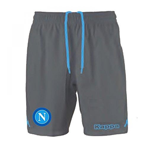 2015-2016 Napoli Kappa Away Shorts (Grey)