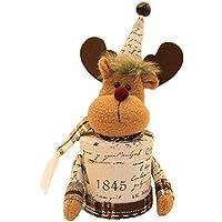 Geryy - Cesta para dulces de Navidad con diseño de muñecas y caramelos, creativo y bonito, caja de dulces para niños, caja de galletas y bolsa de almacenamiento para fiestas 29cm*12cm B