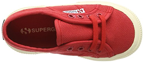 Superga 2750-Jcot Classic Scarpe da Ginnastica, Unisex Bambini Rosso