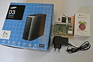 LPSet Pack LP4 Cloud - Raspberry Pi 2 Model B 1GB - OwnCloud Server 8.1