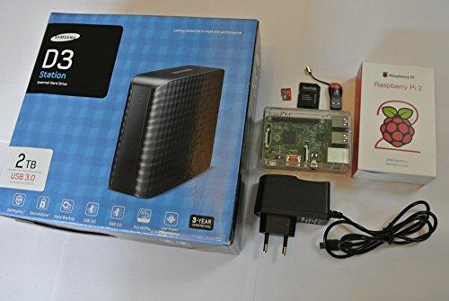 LPSet Pack LPD Cloud (English version) - Raspberry Pi 2 Model B 1GB - OwnCloud Server 8.1