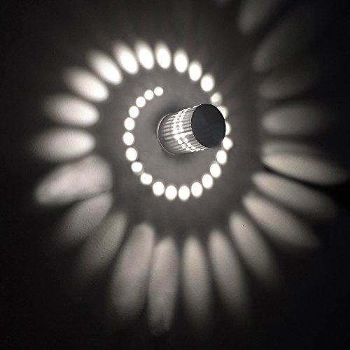 Baytter-3W-LED-Wandleuchte-Wandlampe-Badlampe-Wandstahler-Effektlampe-Badleuchte-Flurlampe