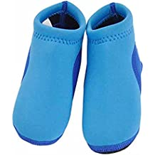 GudeHome Descalzo bebé, zapatos, zapatos de natación zapatos infantiles agua de la playa Calzado de neopreno suave acolchado zapatos