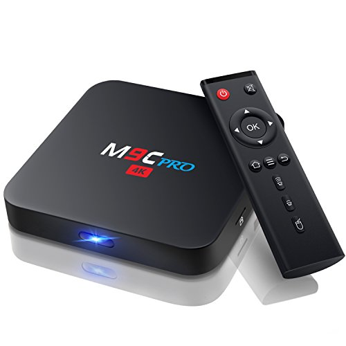 [2018 Android TV Box M9C PRO TV Box mini teclado Amlogic