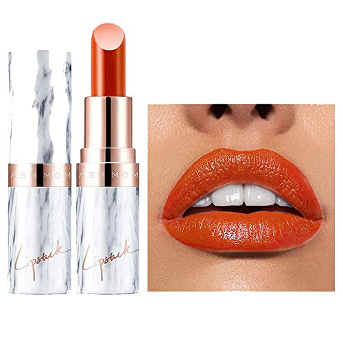 Brillant à Lèvres Hydratant Durable Maquillage Durable Brillant Lip Gloss Lipstick Cosmetics Sexy Stick Lasting Marbre (C)