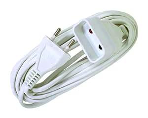 Voltman VOM530461 Prolongateur Rallonge électrique 6A 2 G0 75 3 m