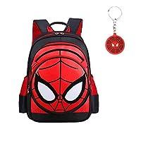 Waterproof Spiderman Backpack 3D School Bag Super Hero Schoolbag Student Bookbag Spiderman for Kids