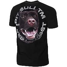 Pitbull Westcoast - Camiseta - Redondo - para Hombre