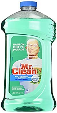 Mr. Clean with Febreze Freshness Multi-Surface Cleaner, Meadows and Rain, 40 Ounce by Mr. Clean