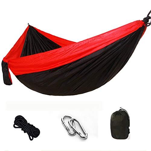 KUNGFU Hamac Double en Nylon pour Camping en Plein air balançoire intérieure de Loisirs (270 * 140CM) D