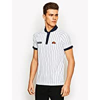 Ellesse Pennetta Polo, Hombre, Blanco (Optic), L