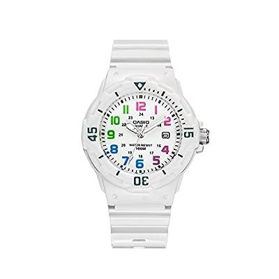 Casio LRW200H7B - Reloj de Señora caucho Blanco