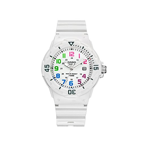 Casio LRW200H7B – Reloj de Señora caucho Blanco