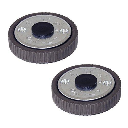 Preisvergleich Produktbild 2 STÜCK Bosch Schnellspannmutter für Winkelschleifer SDS-Clic DOPPELPACK