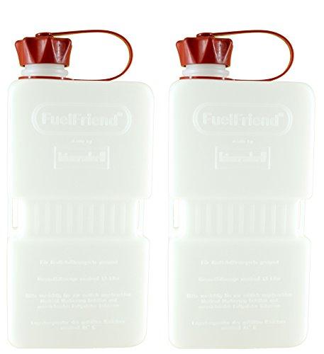 FuelFriend®-Plus Clear - Tanica da 1.5 Litri - 2 Pezzi per Un Prezzo Speciale