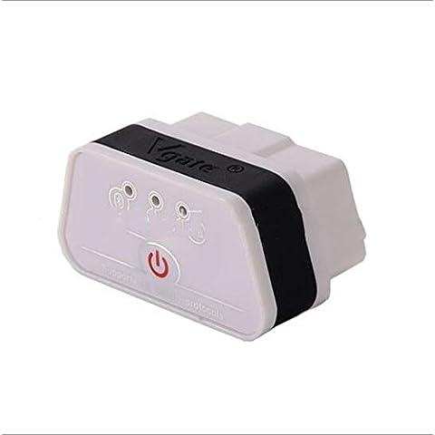 Tester di diagnosi di colpa Vgate ICAR M3 ELM327 Bluetooth OBD2 per autoveicoli , black