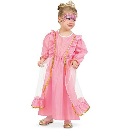 KarnevalsTeufel Kinderkostüm Prinzessin Feriel Prinzessinnen-Kostüm rosa Kleid 1-TLG. -