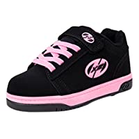 Heelys Dual Up Shoes - Black/pink JNR 13 Black / Pink