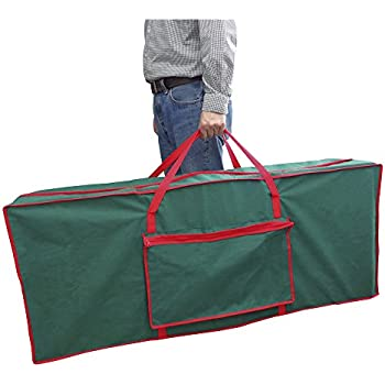 christmas tree fabric storage bag 125 x 30 x 50 cm by christmas corner - Christmas Tree Covers For Storage