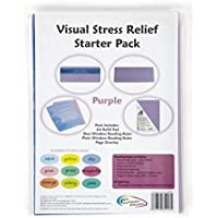 Crossbow Education Visueller Stressabbau, Starter-Set, Aqua Blue violett preisvergleich bei billige-tabletten.eu