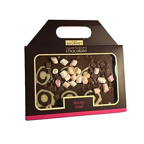 Rocky Road Luxury Gourmet Chocolate Slab