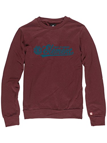 Herren Sweater Element Signature Crew Sweater oxblood red