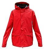 Modas Kinder Regenjacke, Farbe:rot, Größe:122/128