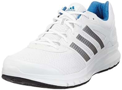 adidas Duramo 6, Scarpe da corsa uomo, Bianco (Weiß (RUNNING WHITE FTW / TECH GREY MET. S14 / RUNNING WHITE FTW)), 40
