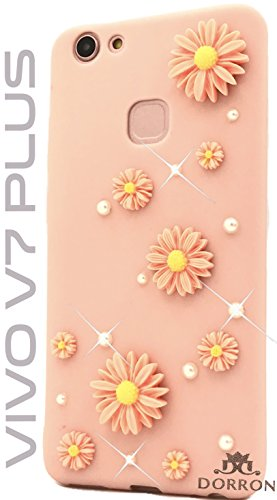 huge selection of f729b 2b741 DORRON Vivo V7 Plus Designer Stylish Back Cases and Covers for Girls
