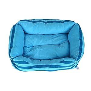 Panier Chien/chat Angelof Grand/Dans/Petit Rectangle Panier Pour Chien Lavable Dot Pet Dog Cat Bed House Chenil Doggy Warm Coussin Panier