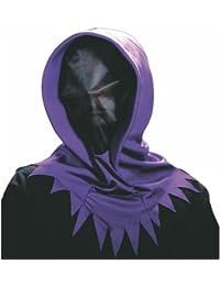 Maske mit Kapuze Halloween Horror Vampir Grim Geist Gesichtsmaske Vampir Reaper