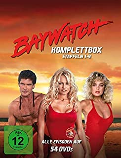 Baywatch - Staffeln 1-9 Komplettbox (Fernsehjuwelen) [54 DVDs]