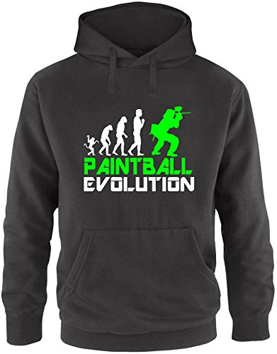 EZYshirt® Paintball Evolution Herren Hoodie