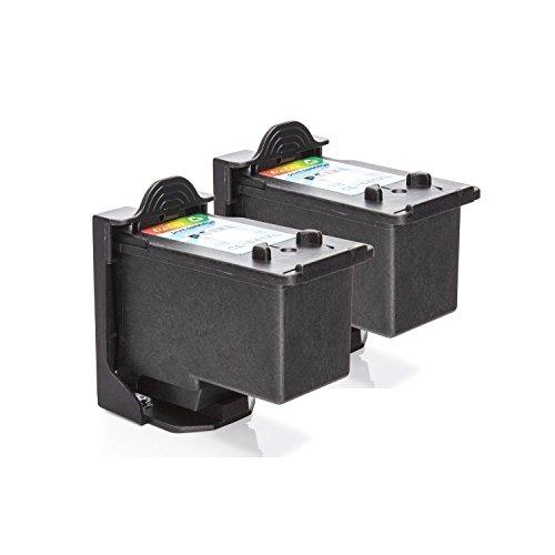 Preisvergleich Produktbild Inkadoo Tinte passend für Canon Pixma TS 5100 Series kompatibel zu Canon PG-540 XL 5225B006-2x Premium Drucker-Patrone Alternativ - Schwarz,  Cyan,  Magenta,  Gelb - 1 x 21,  1 x 15 ml